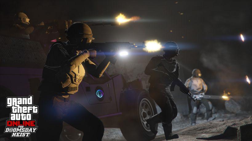 GTA Online version 1.26 Doomsday Heist