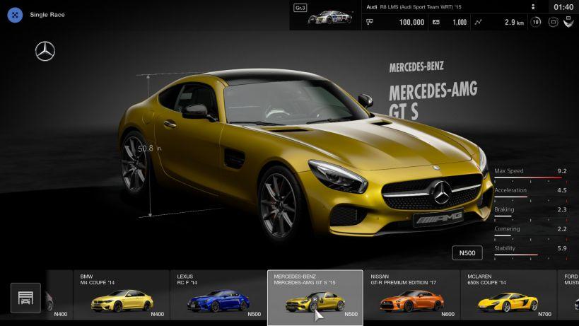 Gran Turismo Sport update 1.10 patch notes