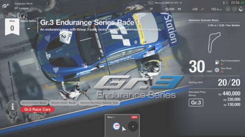 Gran Turismo Sport 1.11