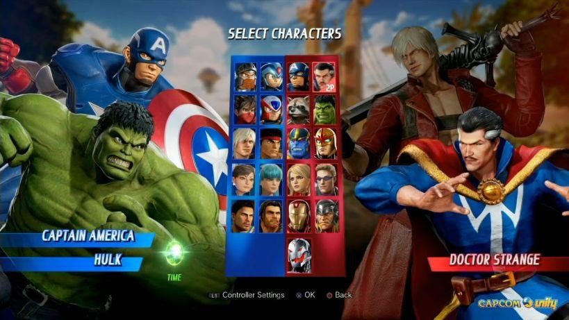 Marvel vs Capcom Infinite patch 1.06
