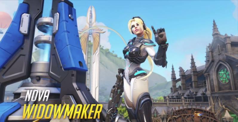 Overwatch version 2.29 Nova Widowmaker