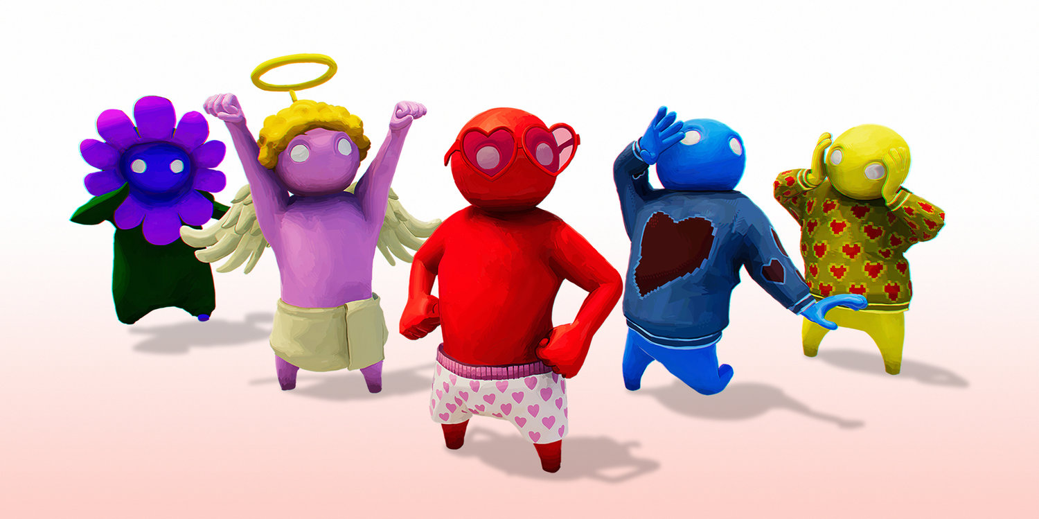 Gang Beasts 1.04 Valentine's Update