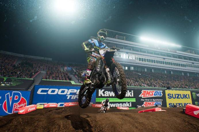 Monster Energy Supercross update 1.08 changelog for PlayStation 4 and Xbox One by UpdateCrazy