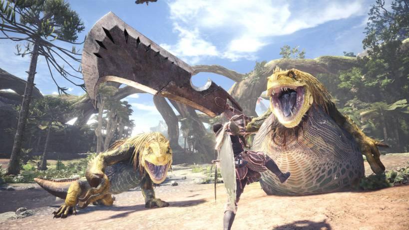 Monster Hunter World update 1.07