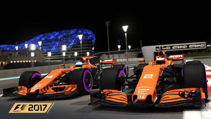F1 2017 patch 1.13