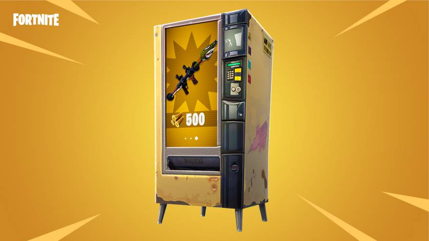 Fortnite v3.4 adds New Vending Machine UpdateCrazy