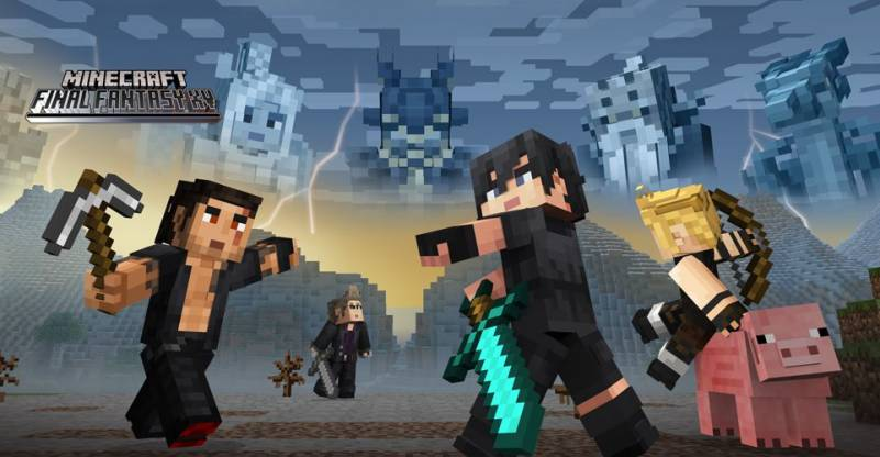 Minecraft 1 68 Update for PS4 and PS3 Adds Final Fantasy XV