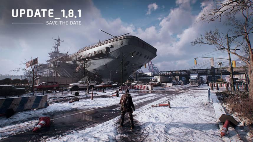 The Division update 1.8.1 Updatecrazy
