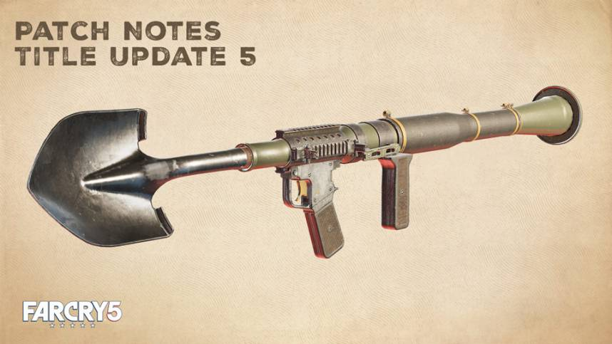 Far Cry 5 update 1.05 Patch Notes for PS4 and Xbox One by UpdateCrazy