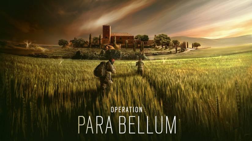 Rainbow six siege update 1.49 Operation Para Bellum