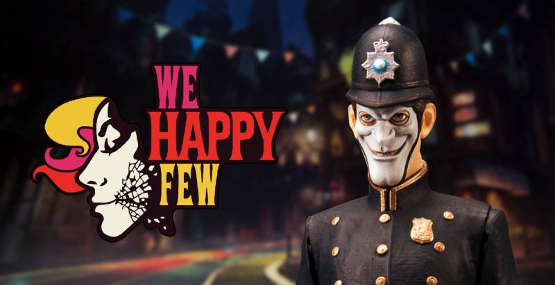 We Happy Few update 1.02 for PS4