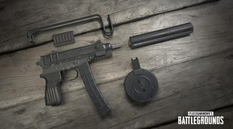 PUBG PS4 Scorpion Gun