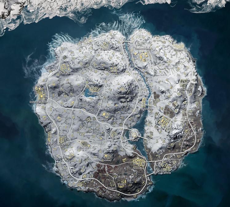PUBG PS4 VIKENDI MAP Update 1.06 Patch Notes
