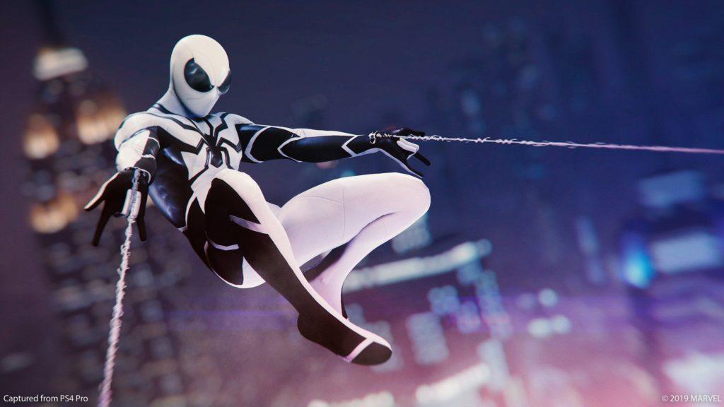 Spiderman PS4 udpate 1.14 Future Foundation suit
