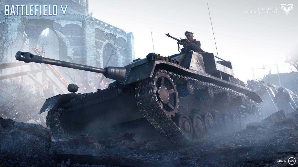 Battlefield V Chapter 2 Lightning Strikes Update 2 New Vehicle – Sturmgeschutz IV