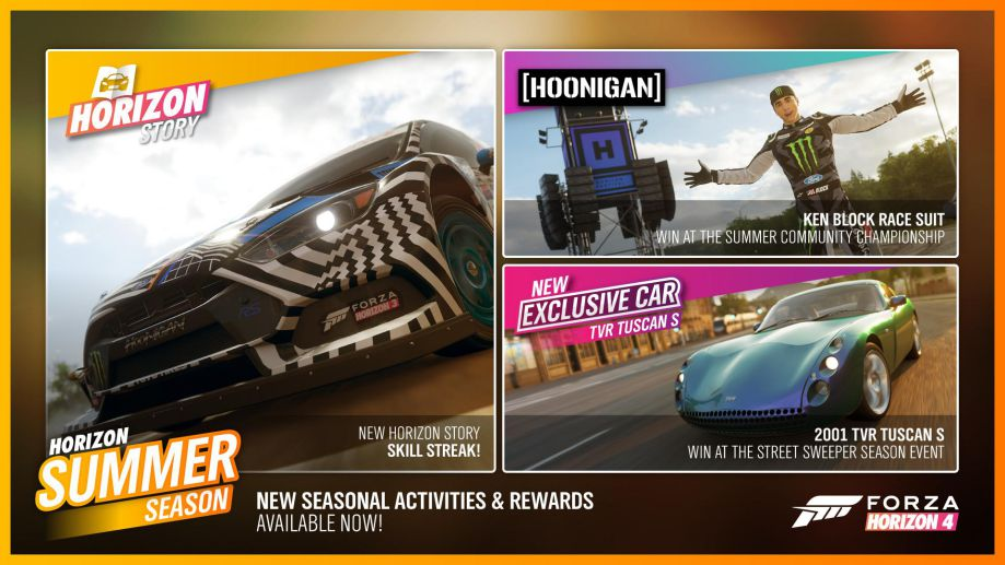 Forza Horizon 4 Series 6 February Update Patch Notes