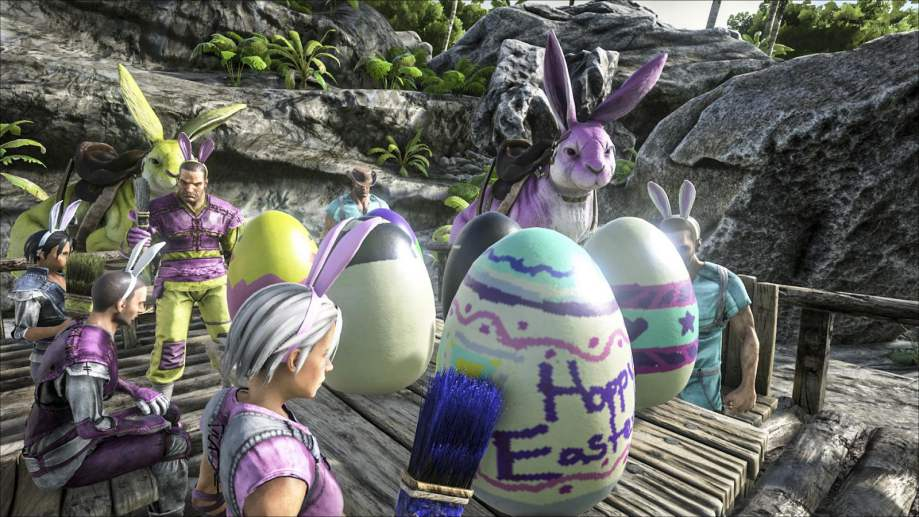 ARK Update 1.92 PS4 Patch Notes, ARK Eggcellent Adventure Event is Here