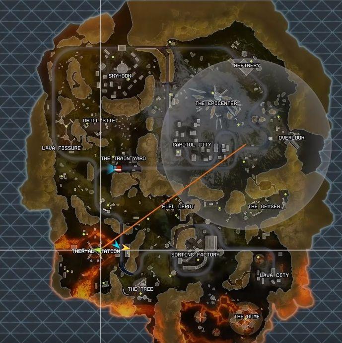 Apex Legends New Map - World's Edge details