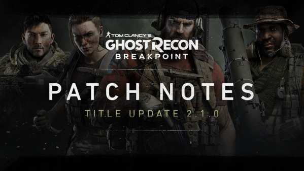 Ghost Recon Breakpoint Update 1.11 Patch Notes