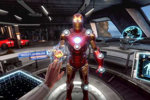 Iron Man VR Update 1.07 Patch Notes (August 25, 2020)