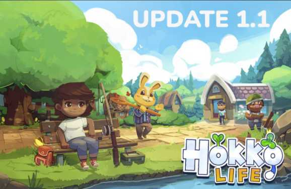 Hokko Life Update 5 Patch Notes for PC (Steam)