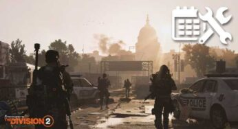 The Division 2 Maintenance Today, Downtime and Patch Details