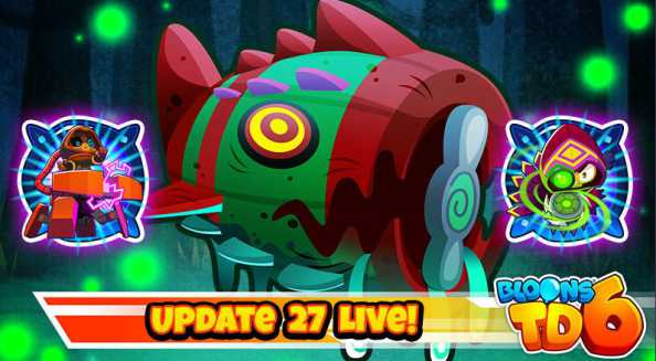 Bloons TD 6 Update 27.0 Patch Notes [New Boss Bloons] - July 26, 2021