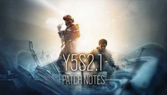 Rainbow Six Siege Update Y6S2.1.0.1 Patch Notes - July 13, 2021