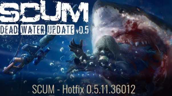 SCUM Update Patch Notes (0.5.11.36012) - July 8, 2021