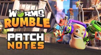 Worms Rumble Update 1.11 Patch Notes (1.011) – August 11, 2021