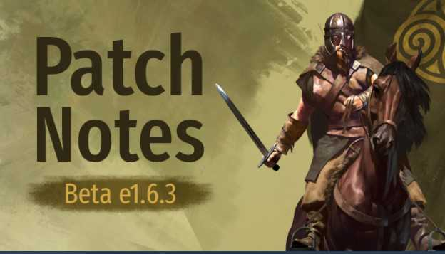 Bannerlord Update 1.6.3 Patch Notes (e1.6.3) - Sep 22, 2021
