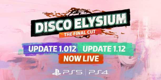 Disco Elysium Update 1.12 Patch Notes (1.012) - Sep 2, 2021