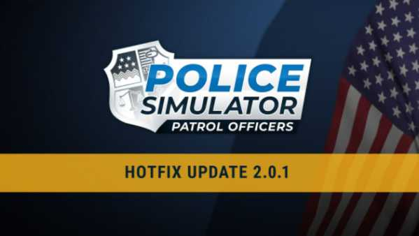 Police Simulator Update 2.0.1 Patch Notes - Sep 1, 2021