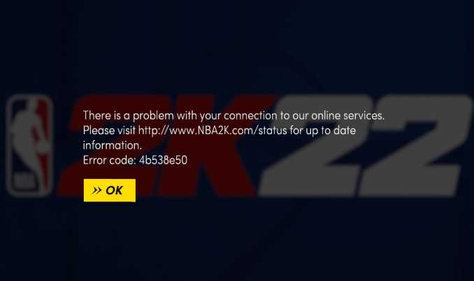 How to fix NBA 2K22 error code 4b538e50 Issue? [Solved]