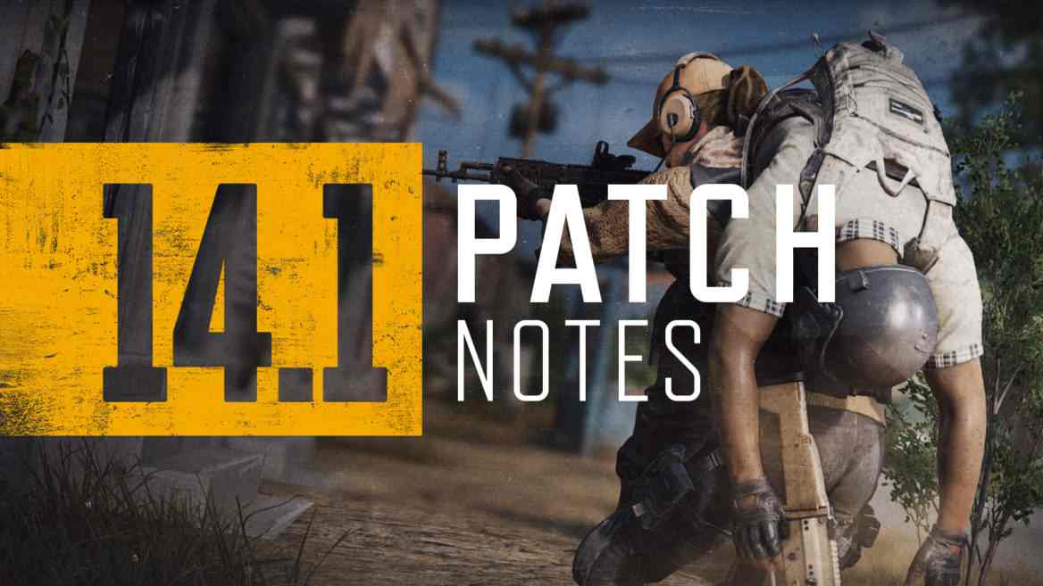 PUBG PS4 Update 1.81 Patch Notes (v14.1) - October 14, 2021