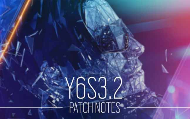 Rainbow Six Siege Update Y6S3.2 Patch Notes (R6 Y6S3.2)