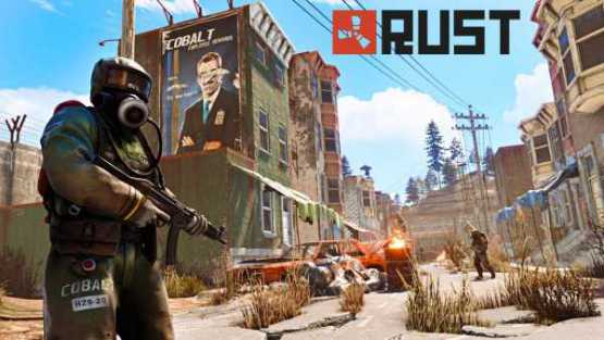 Rust Console update 1.07 Notes for PS4 and Xbox One
